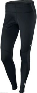 104879dbb976 Image is loading NIKE-Element-Shield-Black-Silver-Reflective-Running-Tights-