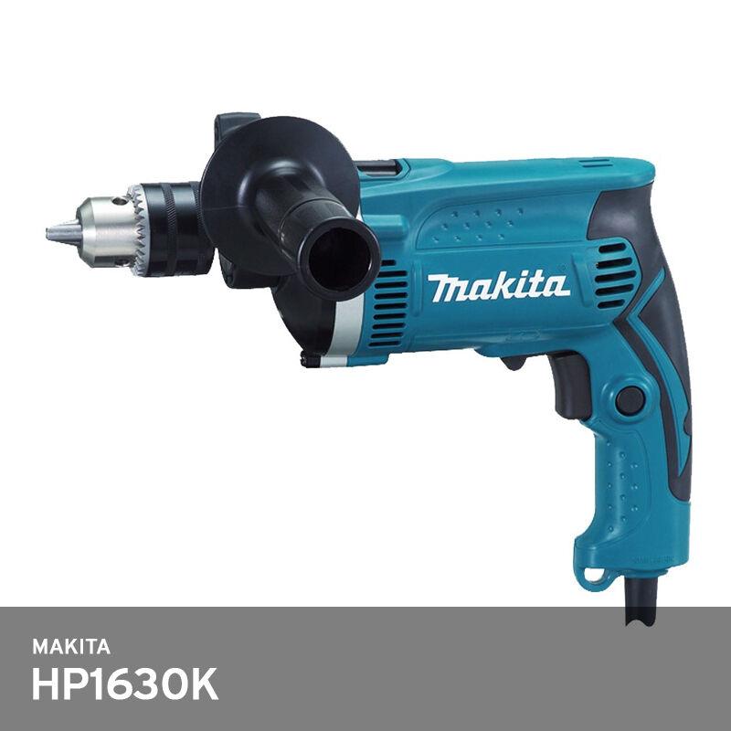 Makita HP1630K Hammer Drill 13 16 30mm 710W 4.2lbs 3200Rpm Corded Plug  C  220V