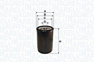 Oil Filter Fits RENAULT Espace III Laguna I Grandtour Safrane II 1109P3 93-01