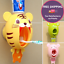 Kids Automatic toothpaste Dispenser Squeezer Toothbrush Holder Bathroom Tools