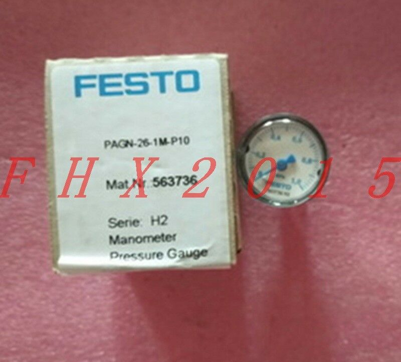 ONE NEW FESTO Pressure Gauge PAGN-26-1M-P10 563736