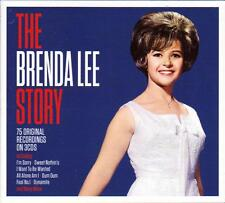 THE BRENDA LEE STORY - 75 ORIGINAL RECORDINGS (NEW SEALED 3CD)