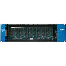 API 500VPR 10 SLOT RACK - With Power Supply
