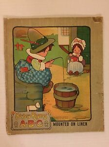 Image Is Loading Vintage Nursery Rhymes Abc Charles E Graham