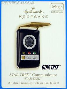 Star Trek Communicator Original Series Hallmark Keepsake Christmas Ornament 2008