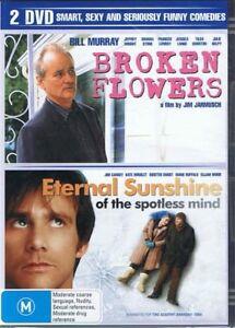 Broken-Flowers-Eternal-Sunshines-Of-The-Spotless-Mind-2-x-DVD-Set-NEW-SEALED
