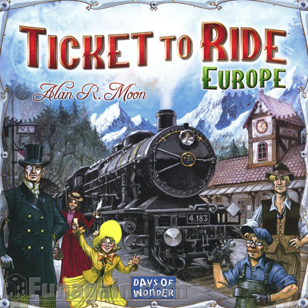 NEW Ticket To Ride EUROPE Days of Wonder- Family Board Juego - Train Adventure