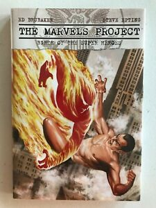 The Marvels Project: Birth of the Super-Heroes Hardcover [1st Print] Marvel