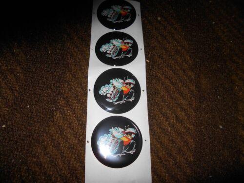 DODGE CHARGER CHALLENGER DART CORONET SUPER BEE SCAT PACK WHEEL RIM DECALS 1 3//4