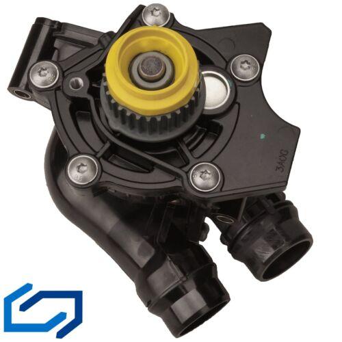 Wasserpumpe mit Thermostat/&Deckel/&Dichtring ohne Sensor für VW AUDI SKODA SEAT