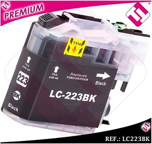 Ink LC221 LC223BK XL Black Compatible Printer Cartridge Black Nonoembrother