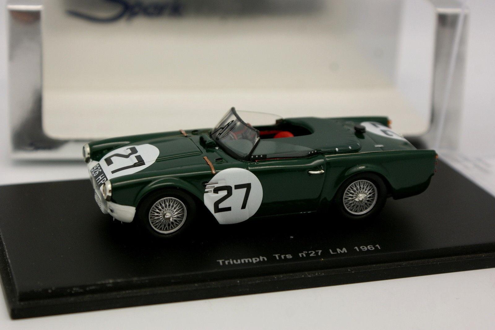 Spark 1 43 - Triumph TRS N°27  Le Mans 1961  vendre comme des petits pains