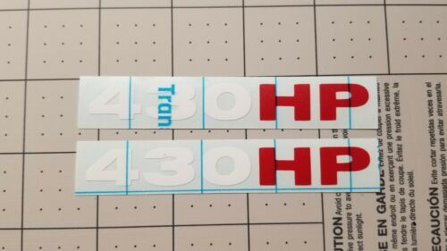 FREE SHIPPING Z51 GRAND SPORT C6 CORVETTE LS3 430hp Vinyl decal sticker 2 pack