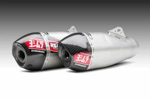 Yoshimura Premium RS-4 Exhaust Muffler Repack /& Decal Kit 950g REPACK-RS4-PK22