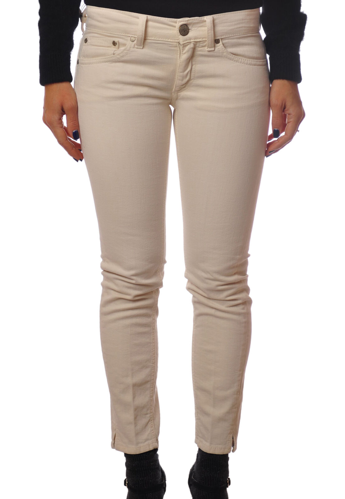 Dondup  -  Pants - Female - White - 4612822A182446