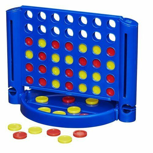 Classico Nuovo di Zecca forza 4 gioco divertente in una riga Gioco da tavolo per bambini e famiglia