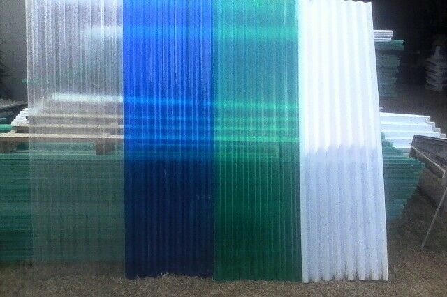 Fibreglass and Polycarbonate roof sheeting