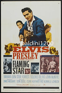ELVIS-PRESLEY-FLAMING-STAR-HIGH-QUALITY-VINTAGE-MOVIE-MUSIC-POSTER