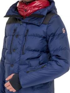 8e791eee3 Details about Moncler Grenoble Rodenberg Hooded Down Filled Jacket Coat  Size 3 Medium £1115