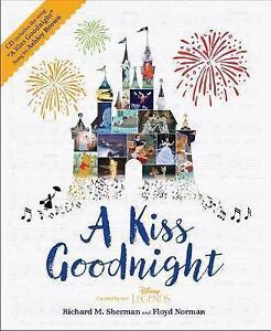A Kiss Goodnight Par Floyd Norman, Adrienne Brown, Richard M. Sherman, New Book,-afficher Le Titre D'origine Aussi Efficacement Qu'Une FéE