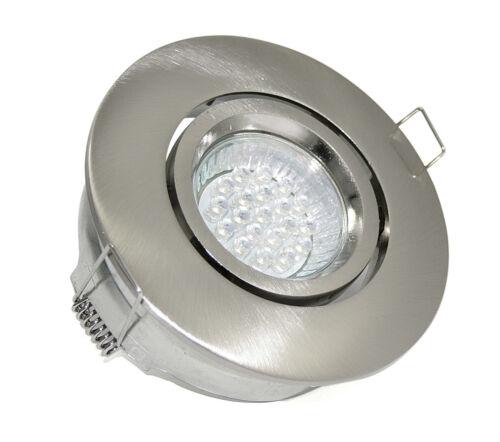 Drehbar GU10 HOCHVOLT Großer Einbauring Kamilux K1002 ohne LED LM Schwenkbar