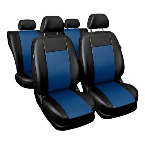 Volkswagen Polo universel bleu Sitzbezüge Housse De Siège Auto Housses de protection Comfort