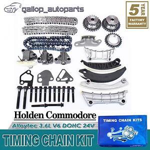 GM-Timing-Chain-Kit-Holden-Caprice-Statesman-WL-2004-2006-3-6L-V6-Rodeo-RA-05-06