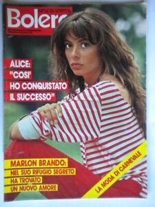 Bolero-1764-Alice-Brando-Vallone-Goldsmith-Ricchi-Poveri-Goggi-Fierro-Bramieri
