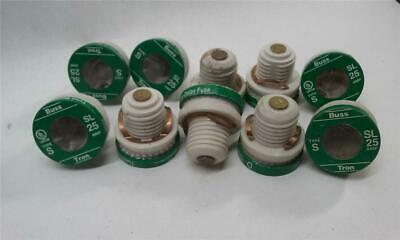 Time Delay Fuse Lot 12 Fustat Fuse Type S 25Amp
