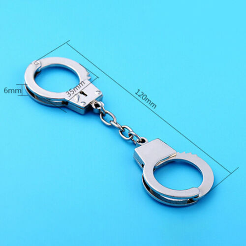 New key chain Keychain Love Handcuffs Ring Key Holder Jewelry MetalB0IT CRIT