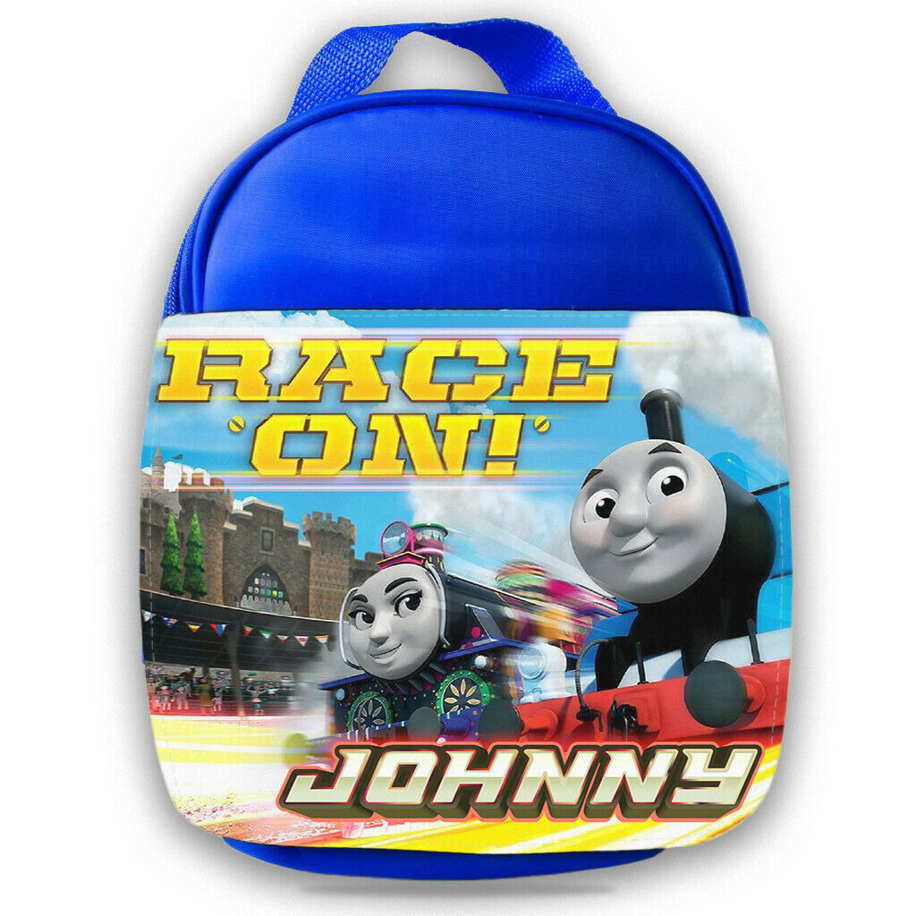 Personalised Thomas Tank Engine Kids Lunch Bag Any Name Childrens Boys School 12