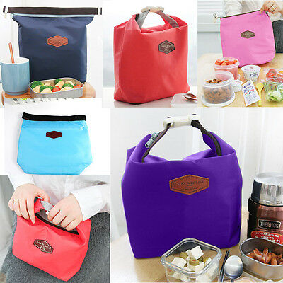 Fashion Thermal Cooler Insulated Lunch Box Storage Picnic Bag Pouch Totes Gift
