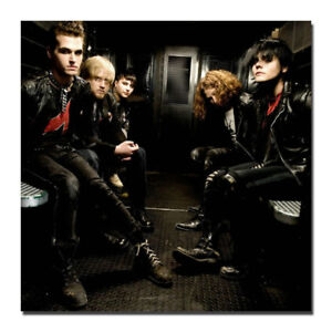 My Chemical Romance America famous punk band Silk Poster 16x16 24x24 inch