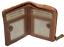 Indexbild 3 - Geldbörse Naturleder Damenbörse Vintage Kartenbörse  Ausleseschutz RFID/NFC