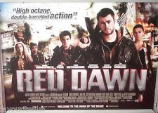 Cinema Poster: RED DAWN 2013 (Quad) Chris Hemsworth Josh Peck Josh Hutcherson