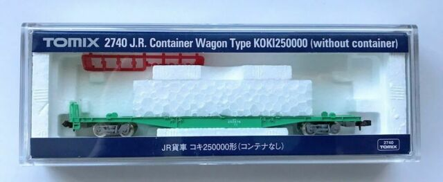 Tomix 2740 JR Freight Car Container Wagon Type KOKI 250000 without Container (N)