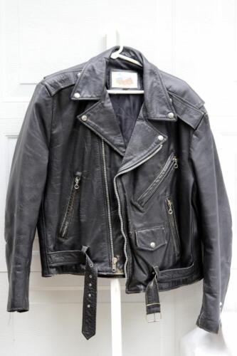 Excelled Leather Biker Jacket size 44