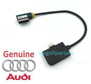 Genuine-Audi-AMI-plomb-Apple-iPhone-5-6-7-8-iPod-iPad-Lightning-Cable-4F0051510AL