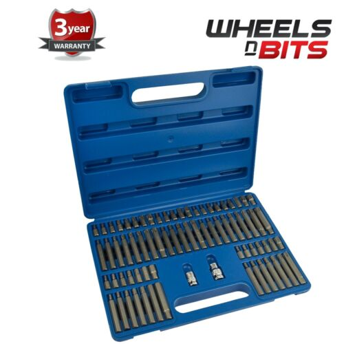 WNB 74pc Hex Allen Star Torx Spline Tamperproof Ribe Bit Socket Set CRV Steel