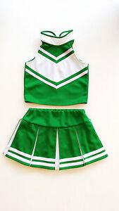 Kinder Madchen Mini Cheerleader Kostum Fasching Cosplay Kleid