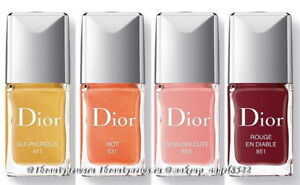 ecd64cce8e DIOR VERNIS - LIMITED EDITION Fall 2018 En Diable Makeup Collection ...