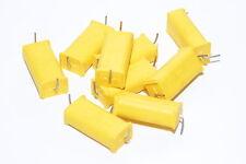 6x Folien-Kondensator von Philips MKT 341 HQ Chicklet, 1 µF / 250 V, Capacitor