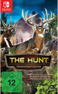 Switch Nintendo Gioco CABELA'S - the hunt NUOVO NEW 55