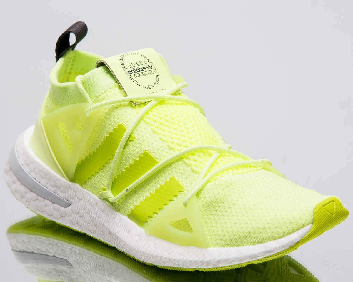 premium selection bc57b 8d8ae adidas Originals Wmns Arkyn Women New Glow Glow Glow Yellow Sneakers Boost  Shoes B28111 6e545e