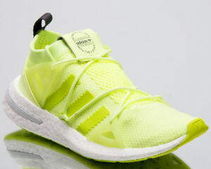 the latest 744bd 294da Image is loading adidas-Originals-Wmns-Arkyn-Women-New-Glow-Yellow-