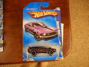 2009 Hot Wheels KMart Days Rebel Rides #144 Mustang Mach 1 Purple