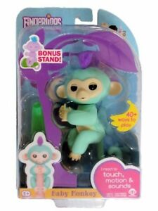 Humorous Wowwee Fingerlings Interactive Blue Monkey 100% Authentic Spielzeug Sonstige Bonus Maxell Lr44