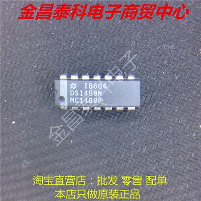 DS1489AN MC1489AP DS1489 Quad Line Receiver DIP14