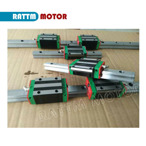 ◤DE◢ 20mm Square Linear Rail 1500mm/&HGH20CA/&RM2005-1500mm Ballscrew/&Nut/&BK//BF 15