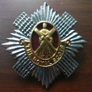 Royal Scots Metal Cap badge